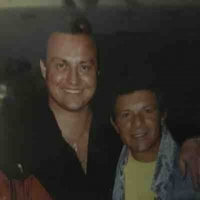 With 50's Idol, Frankie Avalon....