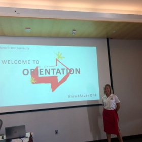 Leading Summer 2018 orientation