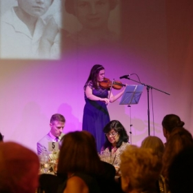 Performance at Anne Frank Gala and receiving the Anne Frank Promise Keeper Award
