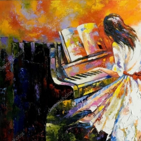 Playing the Piano is like creating a fine, artistic masterpiece & I will show you how