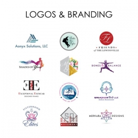 All designs seen here were created using the InDesign software.
