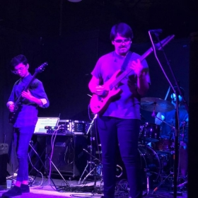 Me and my band Retrosphere performing at Gallery5 in Richmond, VA in 2018.