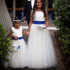 Flower girls Designed and made by me!