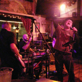 Filling in with The Ray-Band at The Fox and Hounds in Studio City, Los Angeles