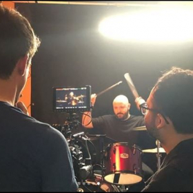 "Video shoot for ""Out In Control"" with Little Galaxies"
