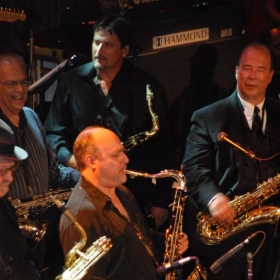 Soloing at the Tower Of Power 40th Anniversary.