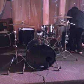 My drum set I will be teaching on