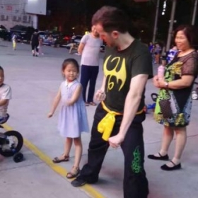Teaching Child in PuYang of Henan Province.