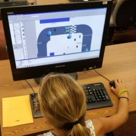 A student from my Video Game Creation Class at Cuesta College For Kids. (Summer of 2016)