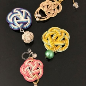 Mizuhiki accessories sample