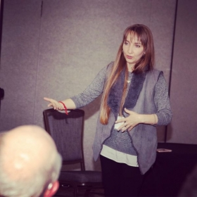 Presenting at the 48th Annual Applied Linguistics Conference (Albany, NY)