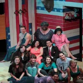 The team for my first my first show: American Dream