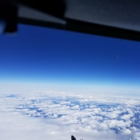 I come alive at 35,000ft ;-)