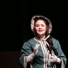 Rachael Sherman-Shockley as Emma Carew in Jekyll and Hyde; Broadway World Reigonal award winner for Best Supporting Actress