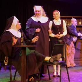 "Playing ""Sister Mary Robert"" in the musical Sister Act"