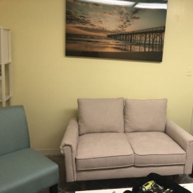 the sitting room in the new studio in Temple Terrace!