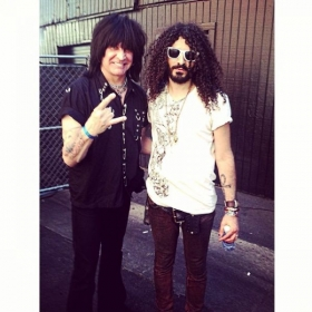 With Michael Angelo Batio.