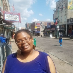 A quick photo from when i visited Memphis with my fiance