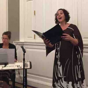 Here I am Performing in a concert at Harvard University
