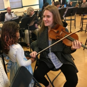 Violin Demonstration w/ Santa Monica Symphony