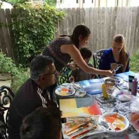 group painting!