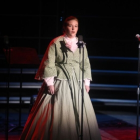 Performing in a US History Concert in GPAC at UNCP