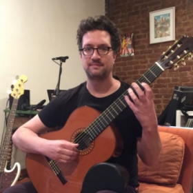 Classical guitar is my first love.