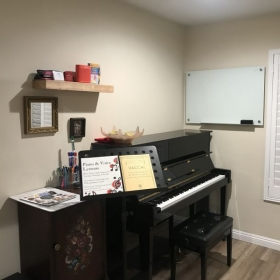 A little snapshot of the teaching corner!