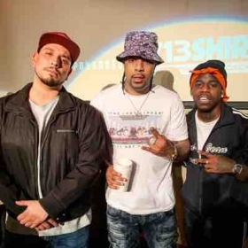 At the Broadcast Houston Awards with my brother Lil Flip and Haroldlujah.