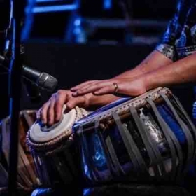 Tabla playing is all about portraying emotion through rhythm.