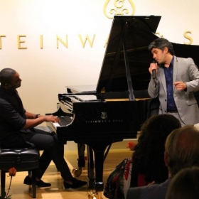 Performing My Funny Valentine at Steinway & Sons