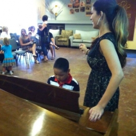 A piano recital I hosted in 2013, in which 12 of my students participated!