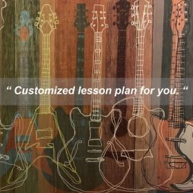 Customized lesson plan for each student.