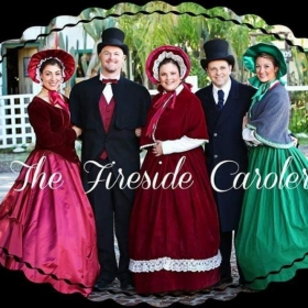 This is the professional Dickens Caroling group I direct and perform in.