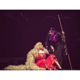 Rapunzel and the Witch from Into The Woods!