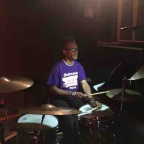 I played the drum set for Clayton County Public Schools (CCPS) musical Willy Wonka Jr.