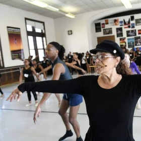 Assisting the legendary Debbie Allen in her summer intensive audition. (Spring 2018)  Shot by Detroit Free Press & Channel 7 (WXYZ) News.
