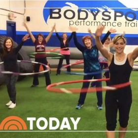 My class, on the TODAY SHOW on NBC