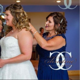 Beautiful Bride & Mother-of-the-Bride ~ Makeup by me.