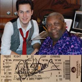 Opening act for B.B. King in 2009
