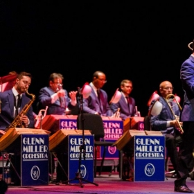 Performing with the Glenn Miller Orchestra