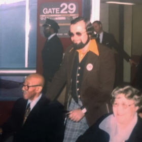 """Radeck with Eubie and Marion Blake St. Louis Airport """"Ragtime '79"""" Concert"""