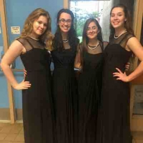 Choir Concert with the other officers