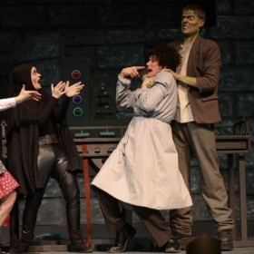 "Alex as The Monster in ""Young Frankenstein"""