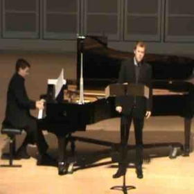 Recital concert of Rachmaninov songs