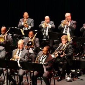 with the Jazz at Lincoln Center Orchestra