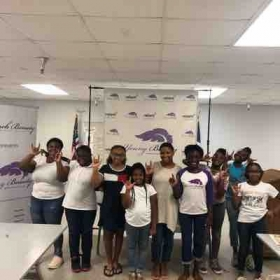 Group session with Young Beauty Academy