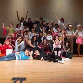 High school musical! I did the choreography at my daughters school