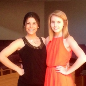 Me and one of my wonderful students when she was giving her Senior Voice Recital!