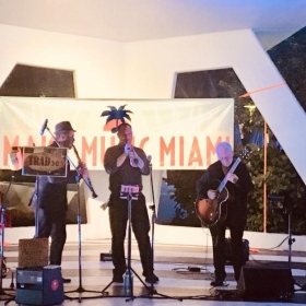 The TRAD305 my traditional jazz ensemble performing as the headlining act at Make Music Miami Day 2019